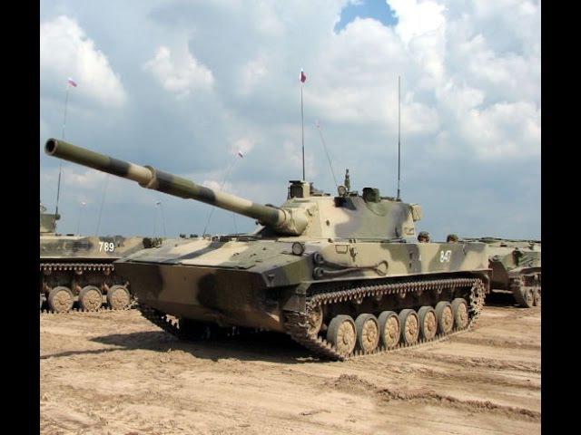 Бронетехника России - лёгкий танк Спрут