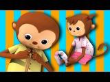 Getting Dressed Song  US Version  Nursery Rhymes by LittleBabyBum!