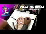 Raja Drawja with Latrice Royale - RuPaul's DragCon 2015