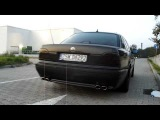 BMW 750 E38 5 4 v12 Magnaflow Exhaust Sound 750i