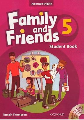 حل كتاب فاميلى اند فريندز 5