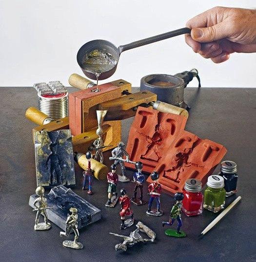 Изготовление солдатиков своими руками