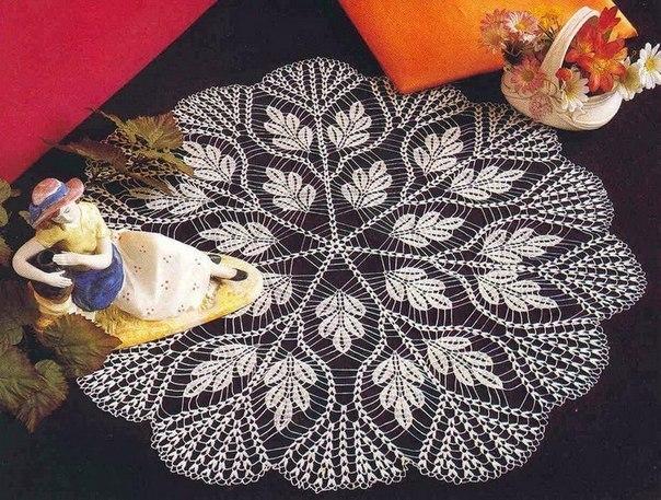 Delicadezas en crochet Gabriela: Centro de mesa
