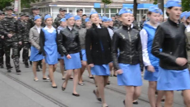 Парад 9 мая 2015. Пл.Освобождение.