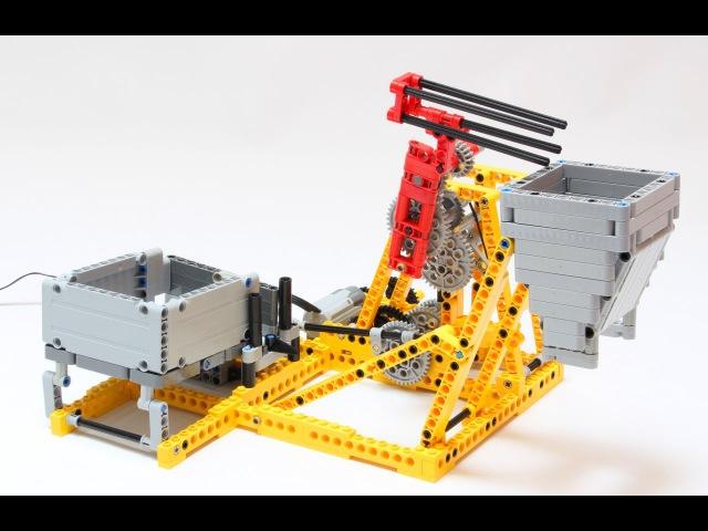 Lego Great Ball Contraption (GBC) - Cardan Lift Mechanism