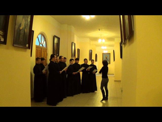 Помишляйте, человєци_Репетиція хору Київської православної богословської академії