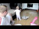 Дочка объясняет папе - что он не прав. Отец и дочь. Приколы малыши