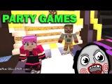 ч.02 Minecraft Party Games - Конь читер