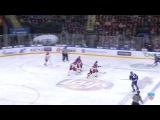 КХЛ (Континентальная хоккейная лига) - Моменты из матчей КХЛ сезона 14/15 - Удаление. Григоренко Иго