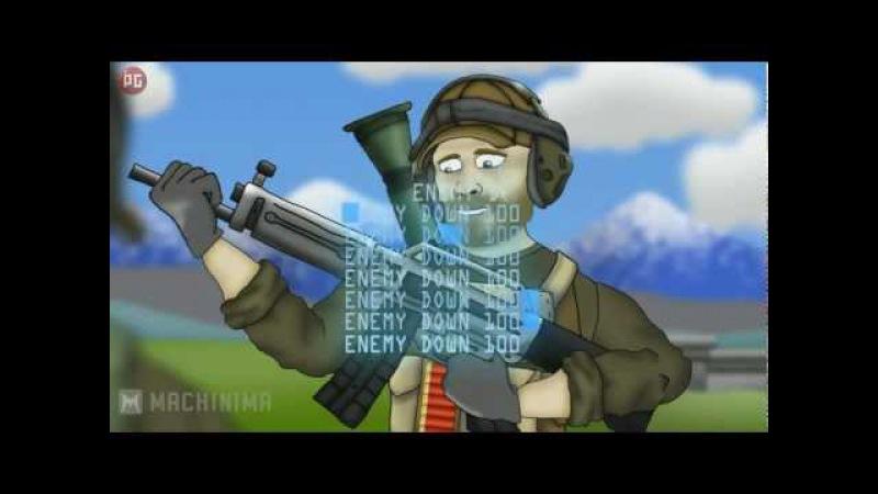 Друзья по Battlefield - USAS-12Фраги (Рус.)