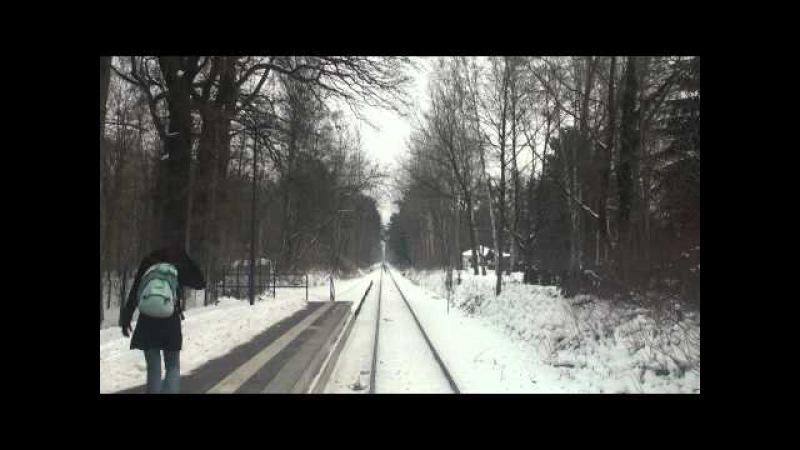 Führerstandsfahrt Heidekrautbahn NE27 Berlin Karow - Wensickendorf (Januar 2010)