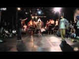 JEU vs JAYGEE @ UK B Boy Champs 2014 Korea Popping Side