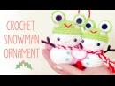 Christmas Crochet Snowman Kawaii Amigurumi Tutorial