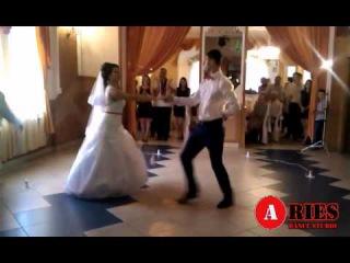 Постановка першого весільного танцю від Dance studio Aries (м. Львів) Таня та Андрій ПАНЧИШИН