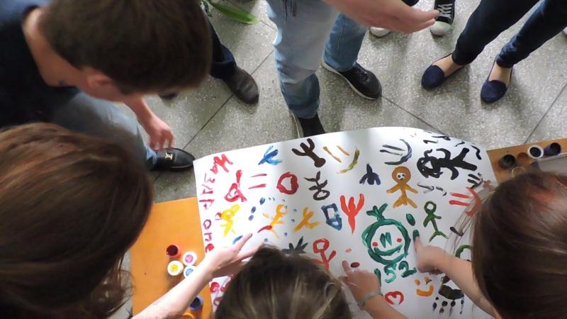 Посвящение КПиП 23 09 15 152 группа Уроки рисования часть 1