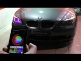 BMW color changing angel eyes (ангельские глазки) (1)