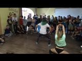 Funky SessionTWERKКсюха Пятина vs. Верхолайцева Елена