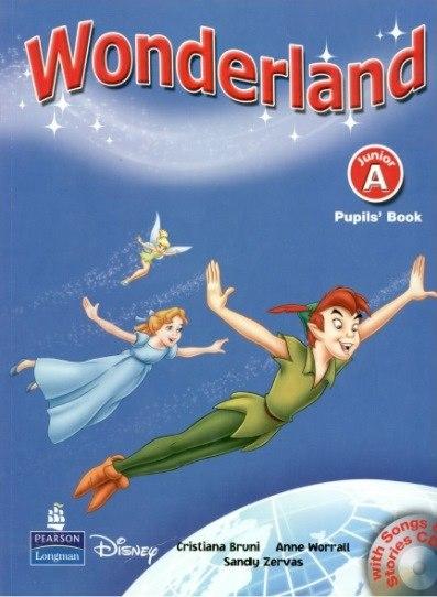 Скачать wonderland pre-junior учебник.