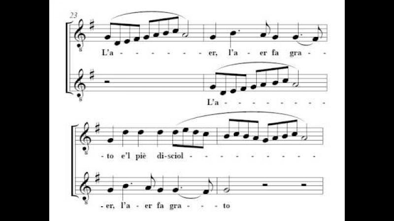 Monteverdi: Zefiro torna e di soavi accenti - Fouchécourt, Padmore