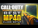 BEST MP40 CLASS SETUP! BEST SMG IN AW! Best Class to RANK UP and PRESTIGE FAST! MP40 DLC
