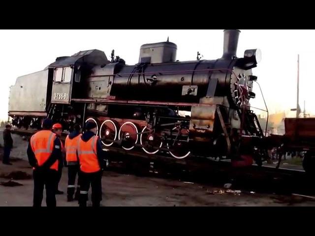 Сортавала. Паровоз. 15 мая 2015 часть 2 Sortavala. Locomotive