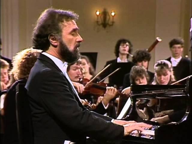 Раду Лупу Моцарт Концерт Nº 19, F-dur K459 Mozart, Concierto para piano Nº 19, K459. Radu Lupu, piano