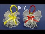 D.I.Y. Christmas Ornament Angel MyInDulzens