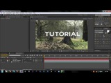 2D Motion Tracking Tutorial | Adobe After Effects CS6