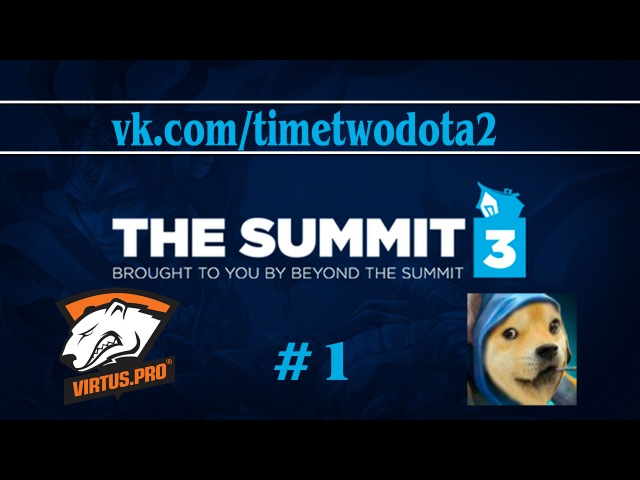 Virtus.Pro vs MeePwn'd 1 (Ru) | The Summit 3 EU (27.02.2015)