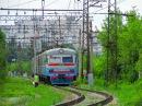 На электричках. Харьков-Балашовский - Лосево - Kharkiv. Electric Train (EMU)