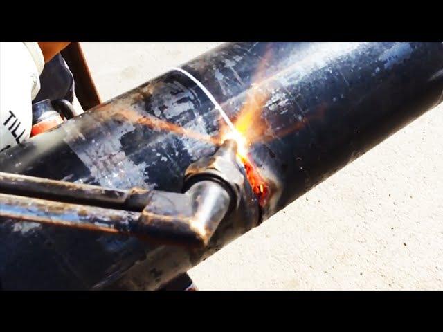 Газорезка трубы со снятием фаски