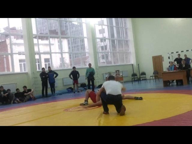 Роман Колкунов (УрГЮУ) vs. Юсиф Байрамли (УралГУФК)