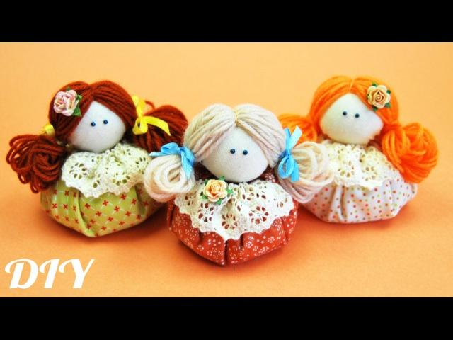 Как сделать КУКЛУ Зерновушку How to make Textil Doll ✿ NataliDoma