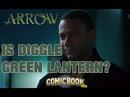 On The Phone: Arrow's Diggle (David Ramsey) Addresses The DiggleGreen Lantern Rumors
