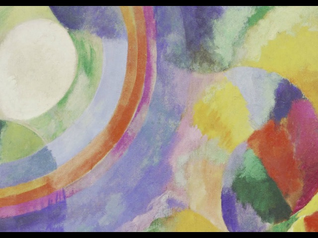 1913   Simultaneous Contrasts Sun and Moon by Robert Delaunay Paris 1913 (dated on painting 1912)