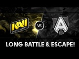 Long battle & Escape by DkPhobos vs Alliance @ The Summit 3