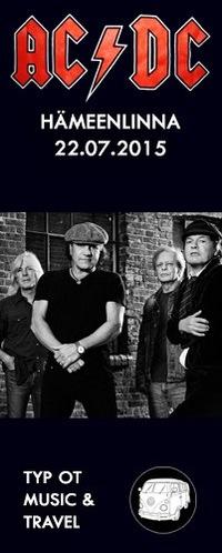 AC/DC - 22.07.2015 - Финляндия, Хямеэнлинна