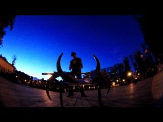 Световое шоу -  Mr.Wasabi (Лукичев Дмитрий), Фестиваль Уличных Артистов