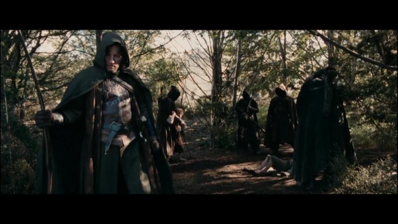 Вырезанная сцена Властелин колец Две башни Погибший харадрим