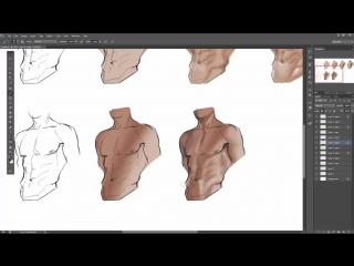Men muscle By Sakimi Chan