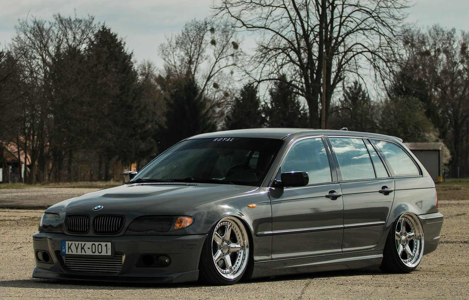 Bmw E46 Touring Bmw E46 M3 Touring Based On 318d Youtube