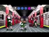 Jacksfilms, Erin, and Klondike show off their break dancing skizills (MERRY CHRISTMAS VERSION)