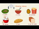 Aprender español Los alimentos nivel básico