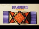 Diamond fold card [Scrapbook] • Halloween