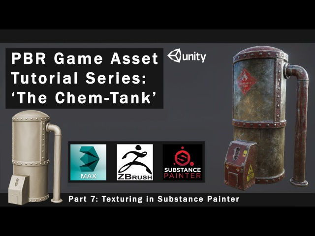 PBR Game Asset Creation Part 7 - Texturing in Substance Painter