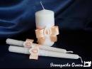 Мастер-класс Свадебные свечи для обряда семейный очаг