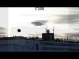 Гигантское НЛО над Антарктической станцией Neumayer Stat...