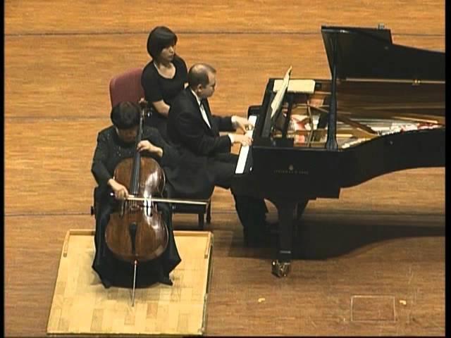 Myaskovsky Cello Sonata No.2 Natalia Gutman and Viacheslav Poprugin