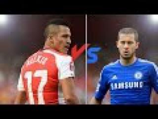 Alexis Sanchez Vs Eden Hazard ● Goals Skills ● 2014-2015 ● HD