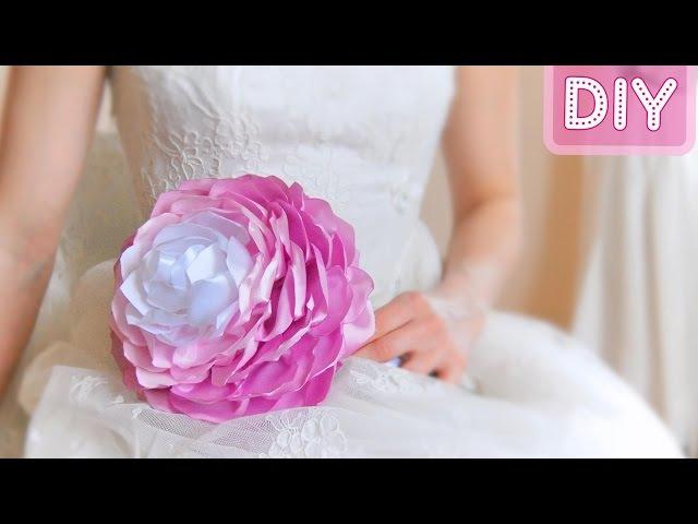 Как сделать Букет Невесты Своими Руками / Bridal bouquet. Tutorial / ✿ NataliDoma